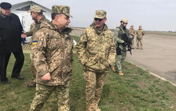 Министр обороны проверяет боевые возможности подразделений ВСУ