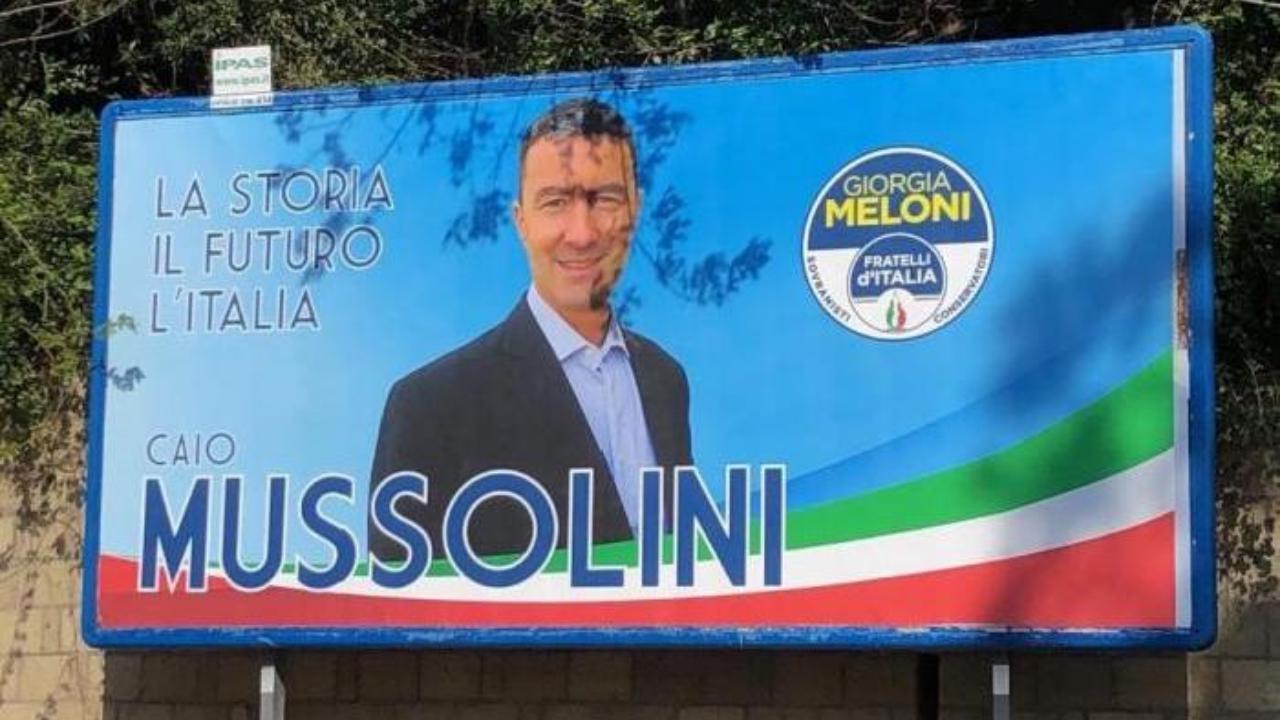 Гай Юлий Цезарь Муссолини баллотируется в Европарламент