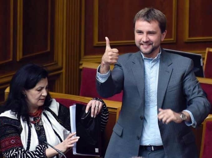 """Верховная Рада: Вятрович стал депутатом, из """"Слуги народа"""" исключили Ива..."""
