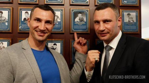 Братья Кличко могли стать Вальтером и Вилли Кличманнами