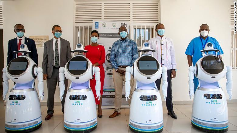 В Руанде роботы будут ухаживать за пациентами с COVID-19