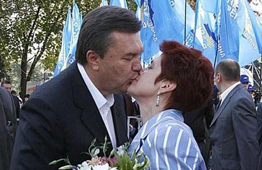 Янукович нашел еще одну   женщину