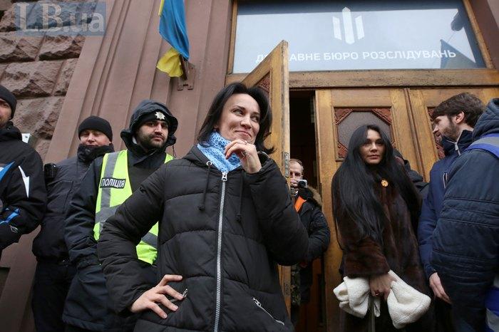 Маруся Зверобой, прибыв в ГБР, отказалась заходить в кабинет следователя