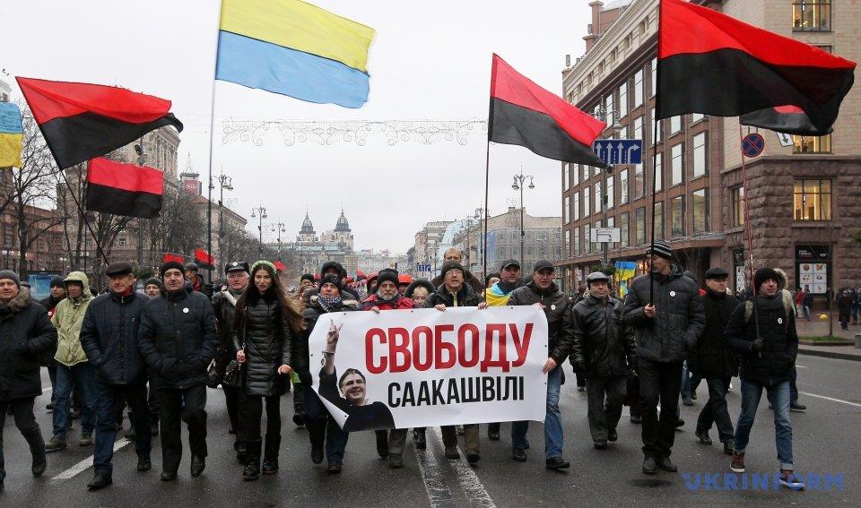 Сторонники Саакашвили выдвинули четыре требования к Раде