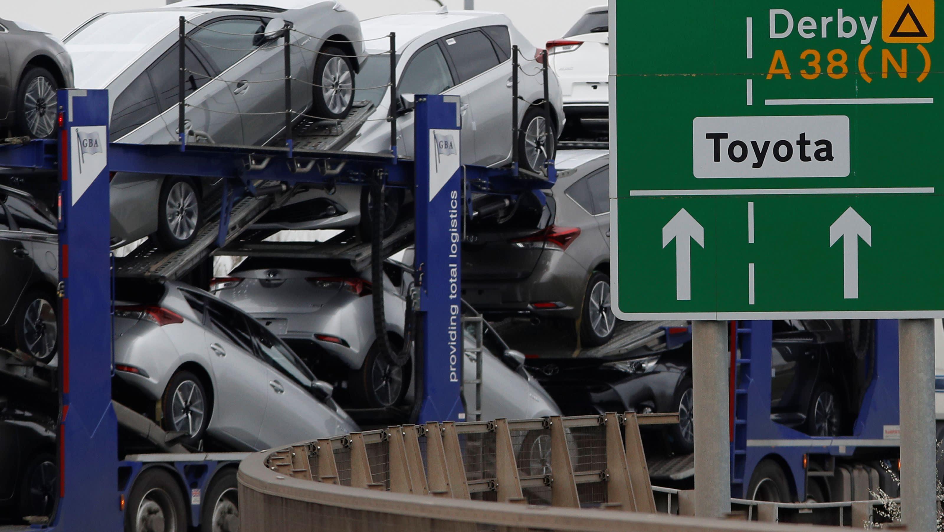 Toyota закроет заводы в Великобритании в случае жесткого Brexit