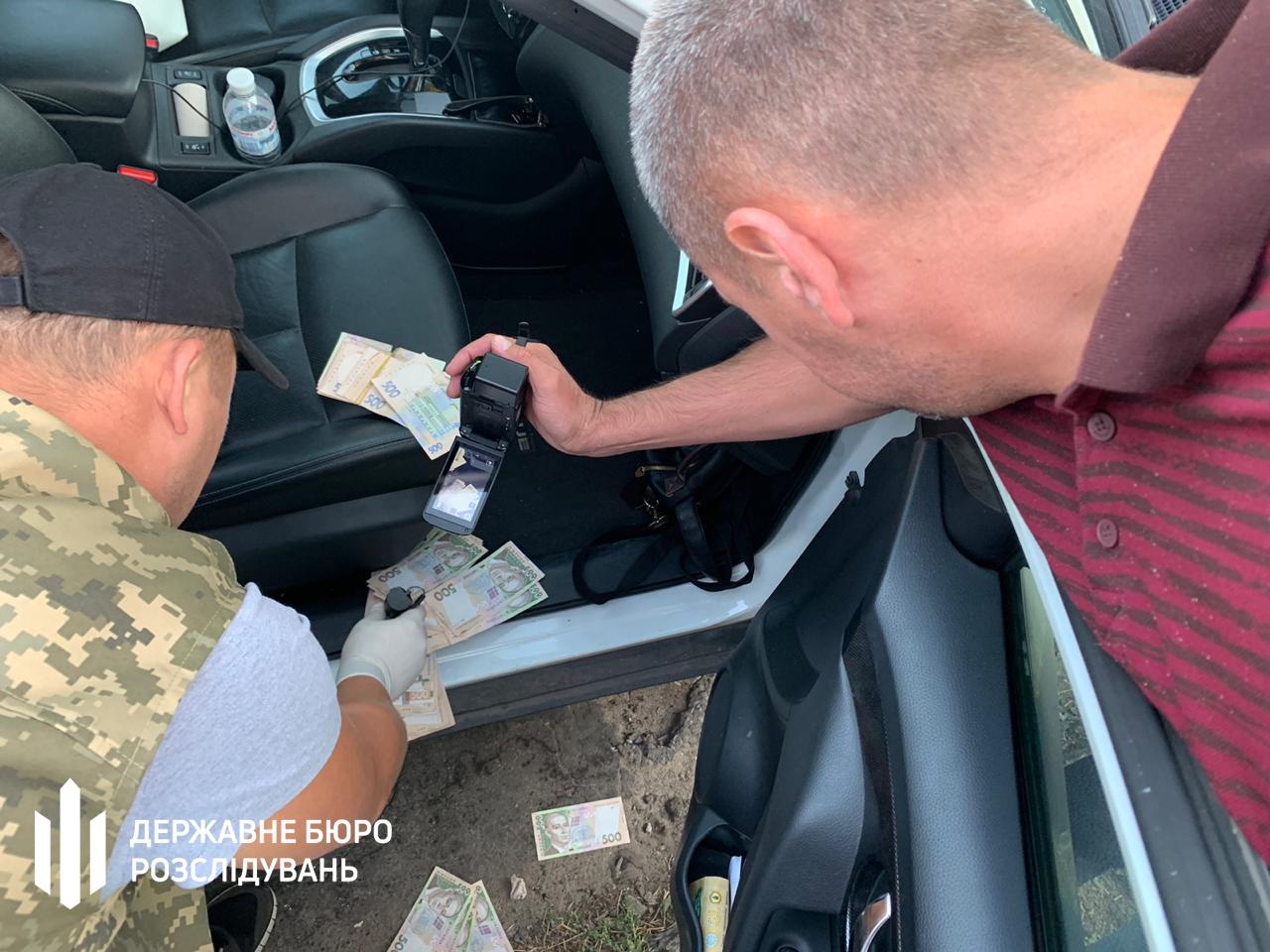 На Донбассе ГБР поймало подполковника тылового обеспечения на взятке