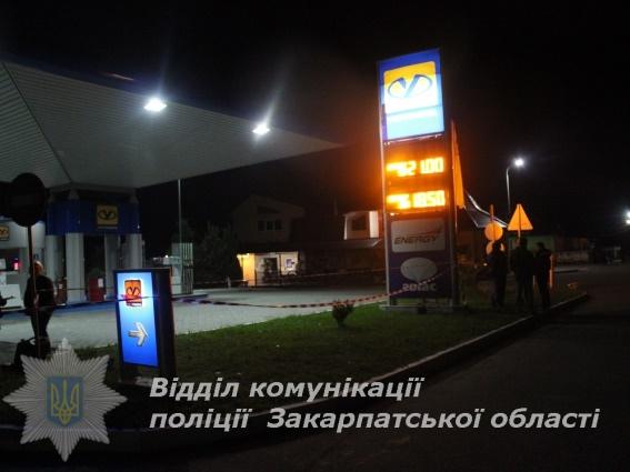 В Закарпатье контрабандисты устроили стрельбу на АЗС, четыре человека ра...