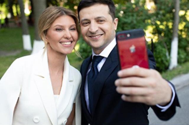 Первая леди Украины завела Instagram и опубликовала фото с инаугурации