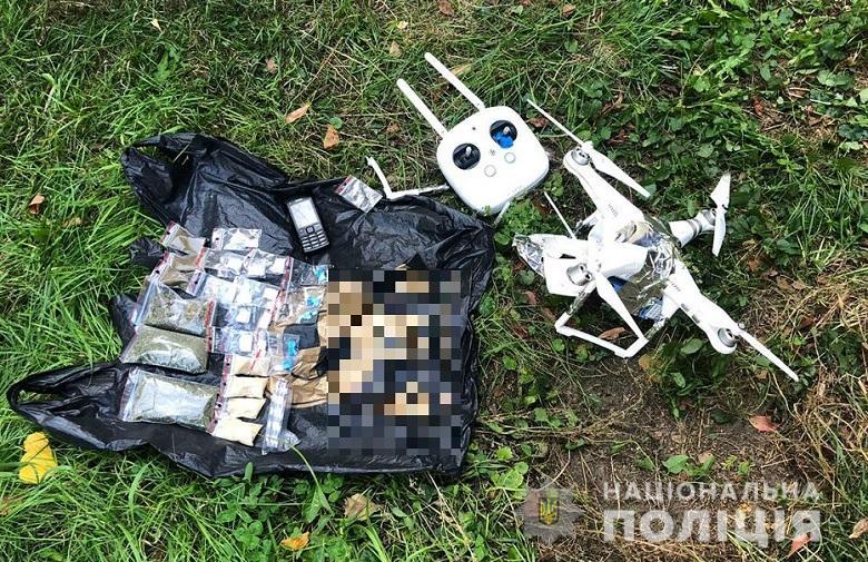 В Лукьяновское СИЗО  перебрасывали наркотики с помощью квадрокоптера