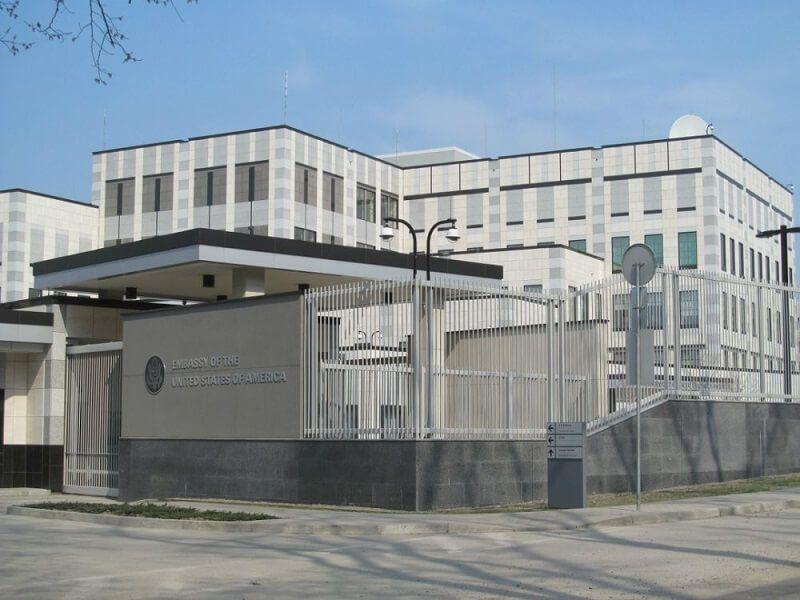 Посольство США предупредило своих граждан о готовящейся акции Нацкорпуса...