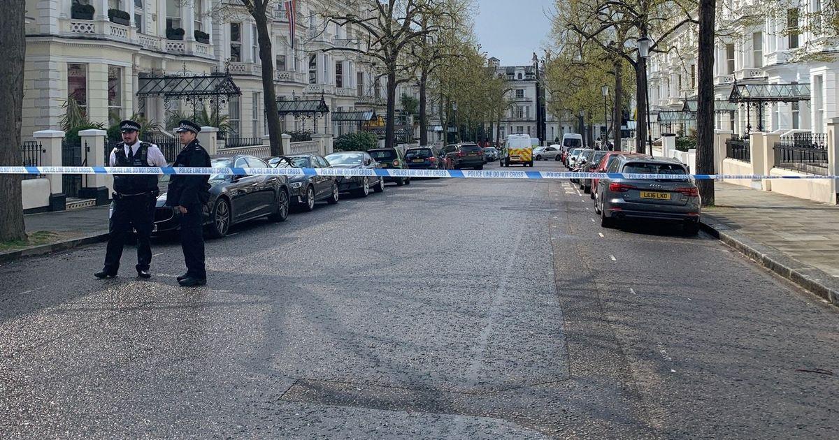 Водитель, врезавшийся в машину посла Украины в Великобритании, задержан