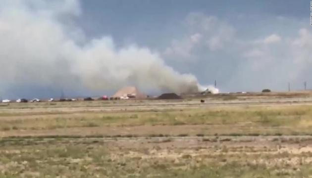 В США в аэропорту взорвались фейерверки, пострадали люди