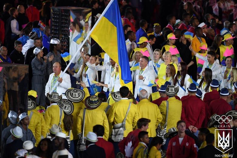 Сборная Украины завершает участие в Олимпиаде с личным медальным антирек...