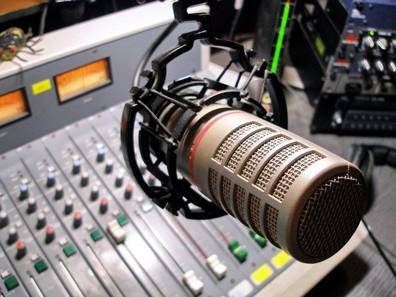 В прифронтовом поселке Широкое начало вещание украинское военное радио