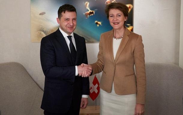 В Украину впервые приедет президент Швейцарии
