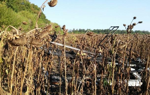 В Сумской области разбился легкомоторный самолет: пилот погиб