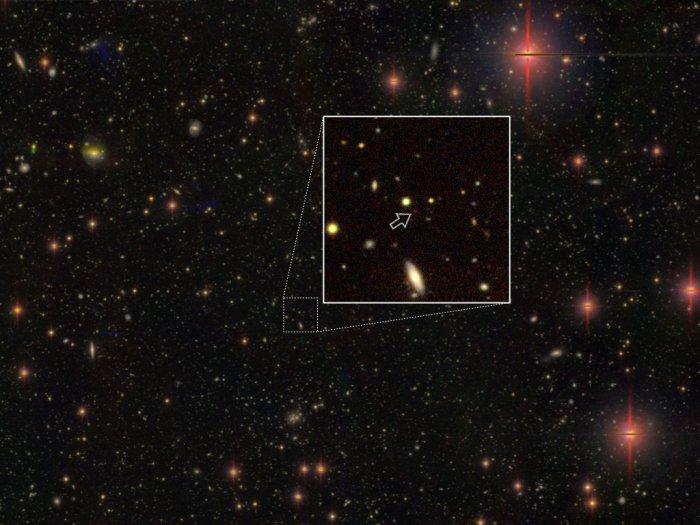 В ранней Вселенной нашли 83 черные дыры