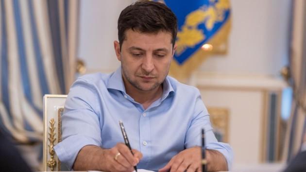 Зеленский подписал ряд принятых Радой законопроектов