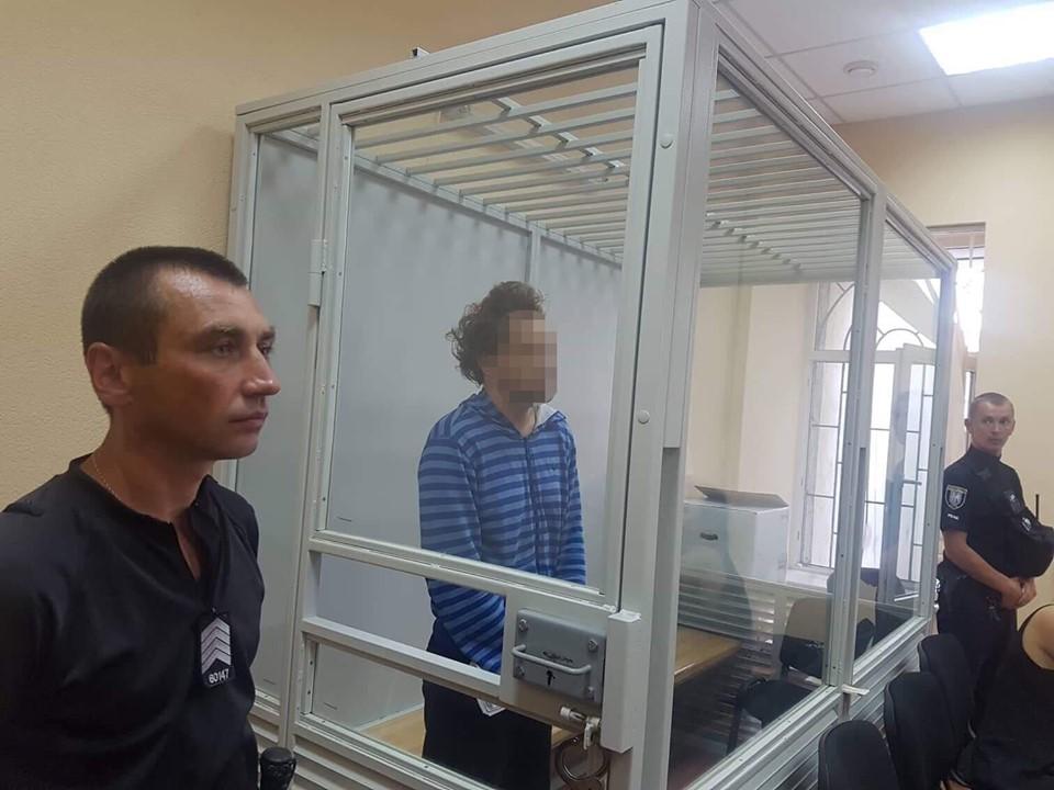 Суд арестовал убийцу 9-летнего мальчика у озера Вырлица в Киеве