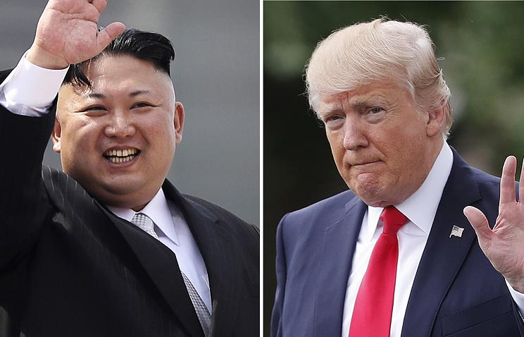 Трамп не прочь поехать на границу с КНДР ради встречи с Ким Чен Ыном
