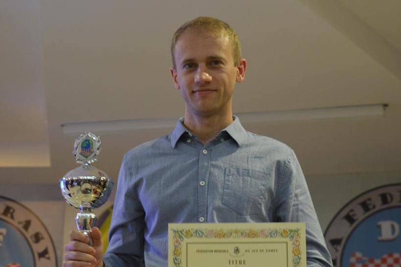 Чемпионом мира по быстрым шашкам стал украинец