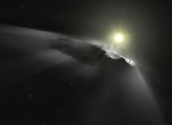 """И все же """"инопланетный зонд"""". Ученые не могут объяснить природу межзвезд..."""