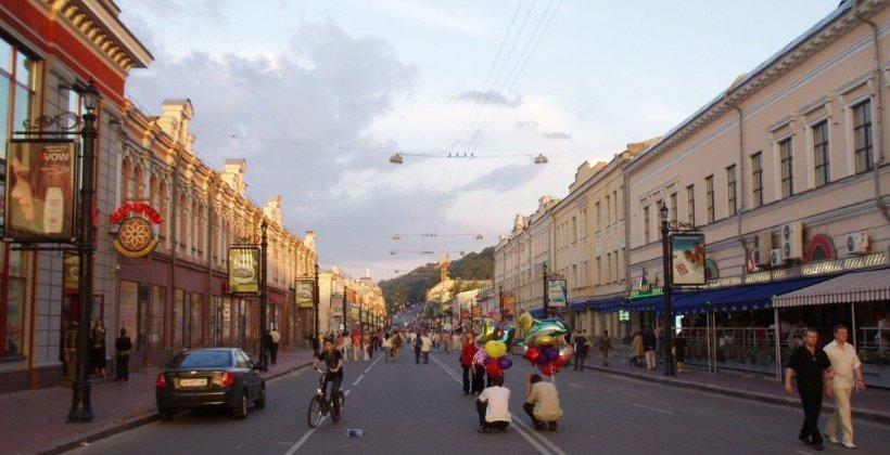 В Киеве появится еще одна пешеходная улица