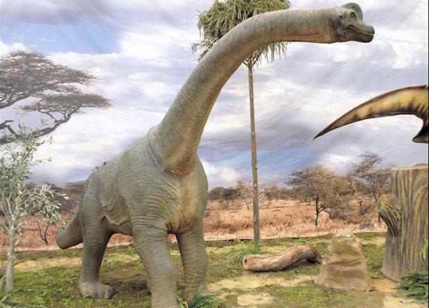 В России откопали останки гигантского динозавра