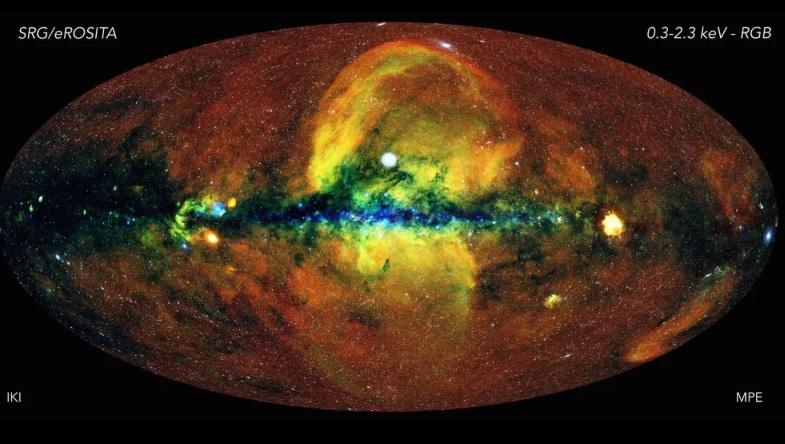 Млечный Путь в рентгеновском свете: получена подробная карта нашей галак...