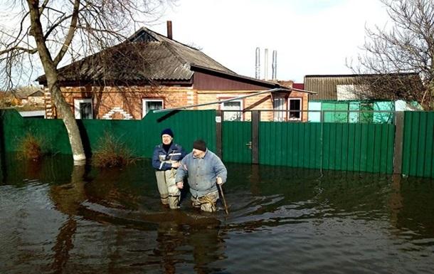 В украинских реках продолжается подъем воды