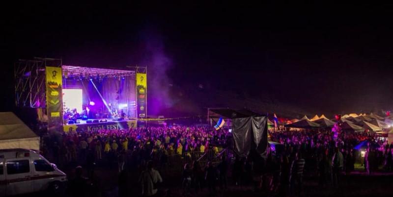 На Kozak Fest ураган снес крышу сцены. Фестиваль досрочно закрыли