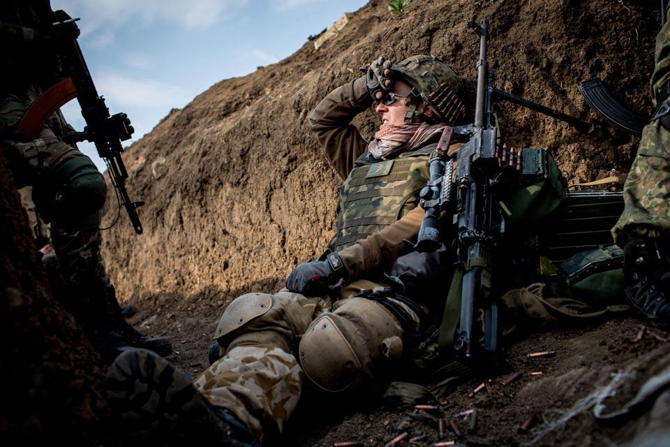 АТО: Боевики активно стреляли из 122-мм артиллерии