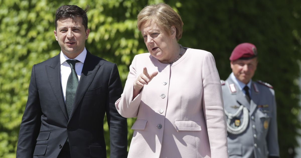 """Позиции Украины и Германии по """"Северному потоку-2"""" – диаметрально против..."""