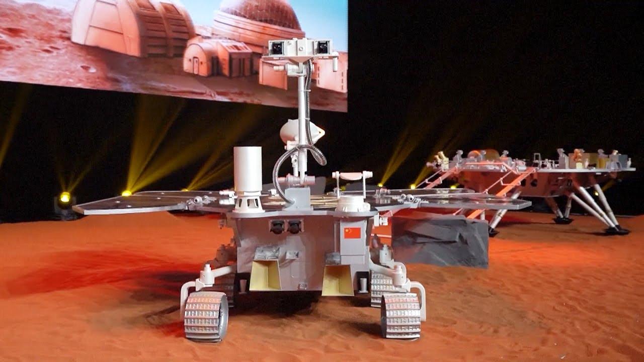 Китай отправил свою первую ракету на Марс, чтобы искать марсианский лед