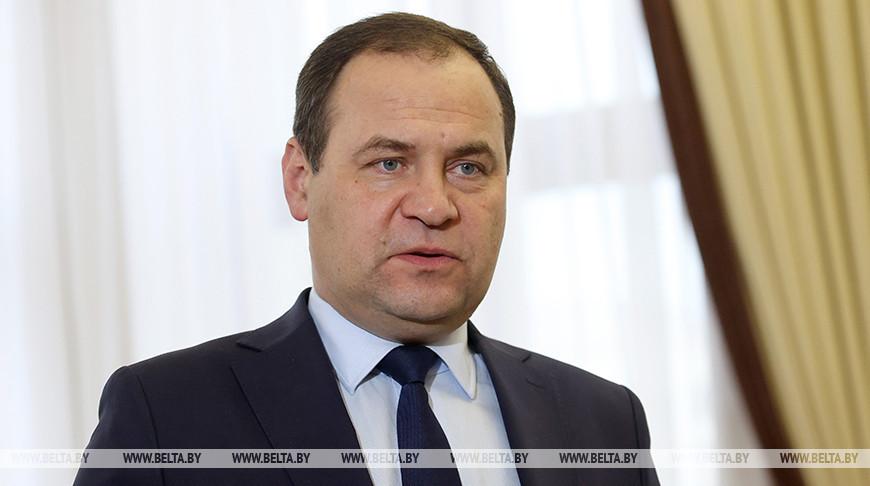 Премьер Беларуси утверждает, что в стране нет забастовок