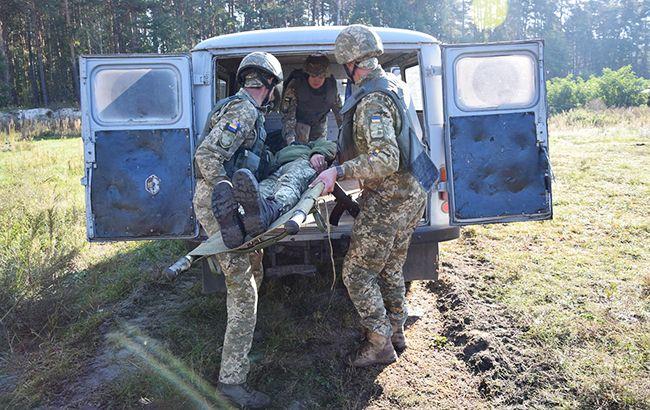 С начала суток на Донбассе боевики 6 раз нарушили режим тишины, ранены д...