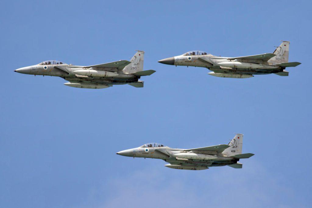 Израильские ВВС ударили по сектору Газа