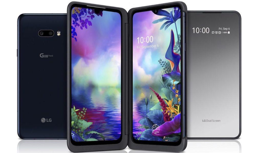 LG показала смартфон с тремя экранами