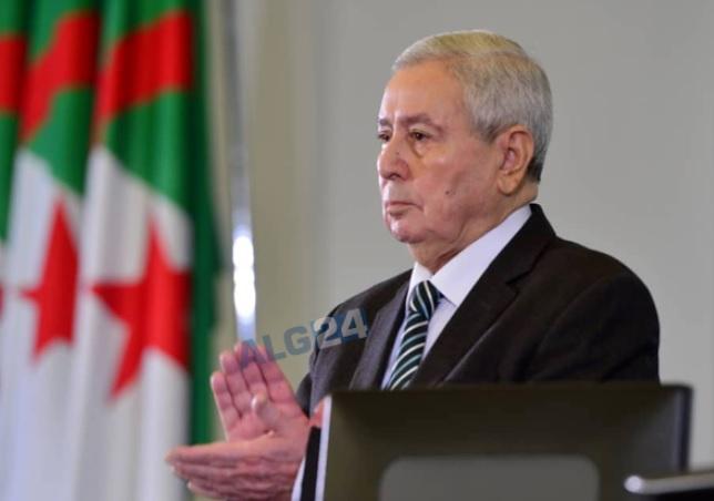 Алжир получил временного президента