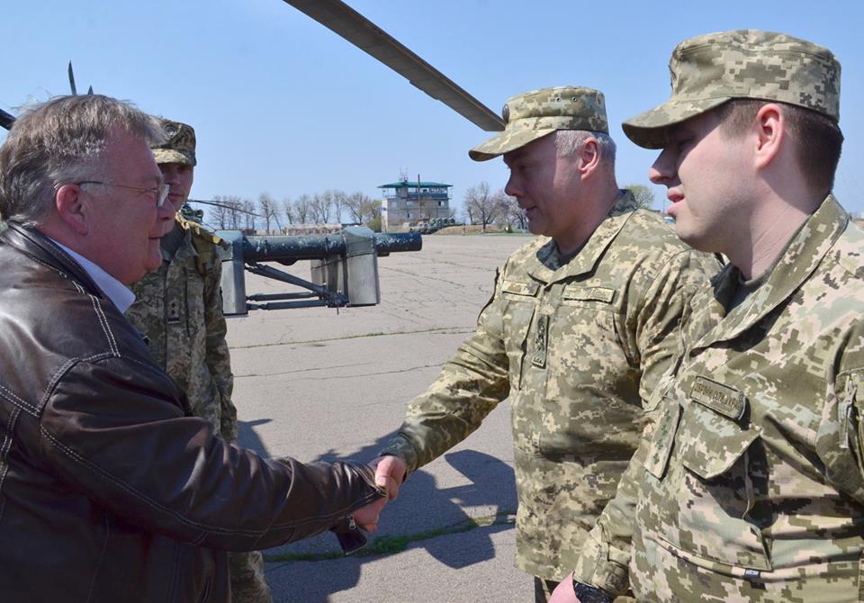 На Донбасс приехал министр обороны Королевства Дания