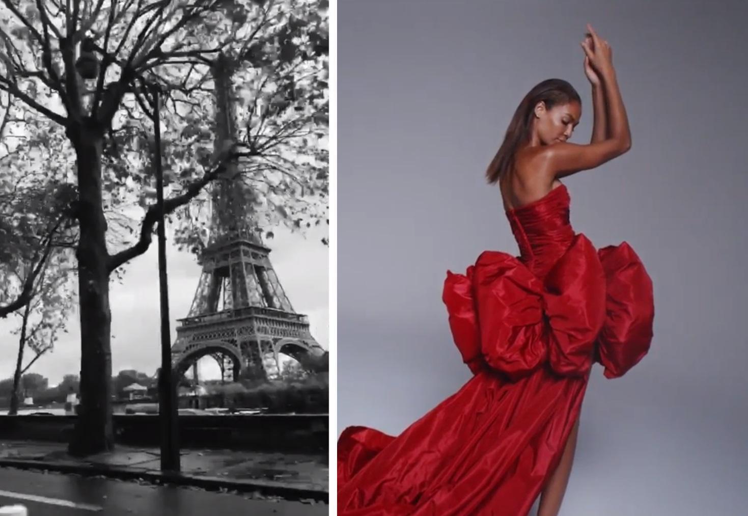 Джамбаттиста Валли провел онлайн-показ в рамках Парижской недели высокой...