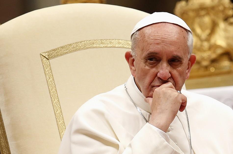 Папа Римский в своей пасхальной речи упомянул Украину
