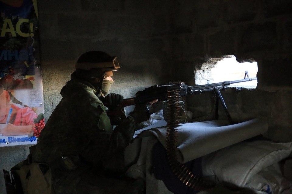 В зоне АТО активизировались снайперы боевиков