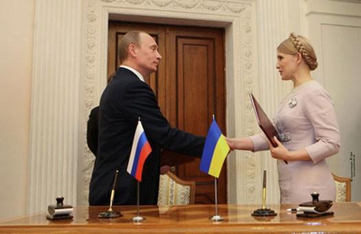 Путин поздравил Тимошенко с днем рождения