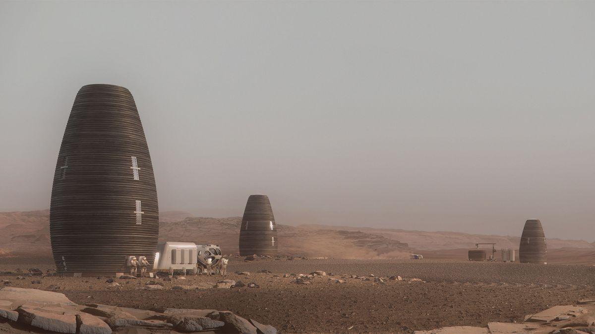 NASA назвало победителя конкурса проектов марсианского жилья