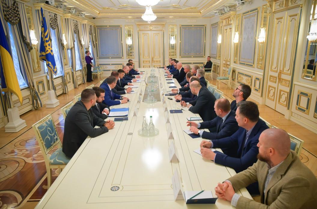 владимир зеленский, встреча с олигархами, 17 марта