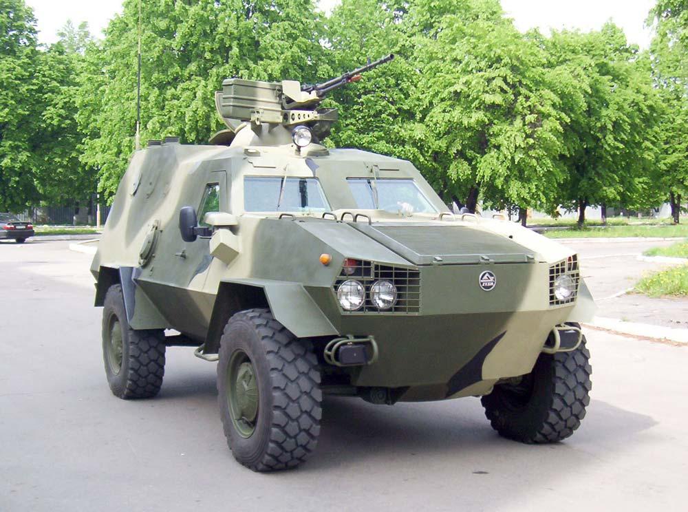 В марте ВСУ получат новые бронеавтомобили Дозор-Б