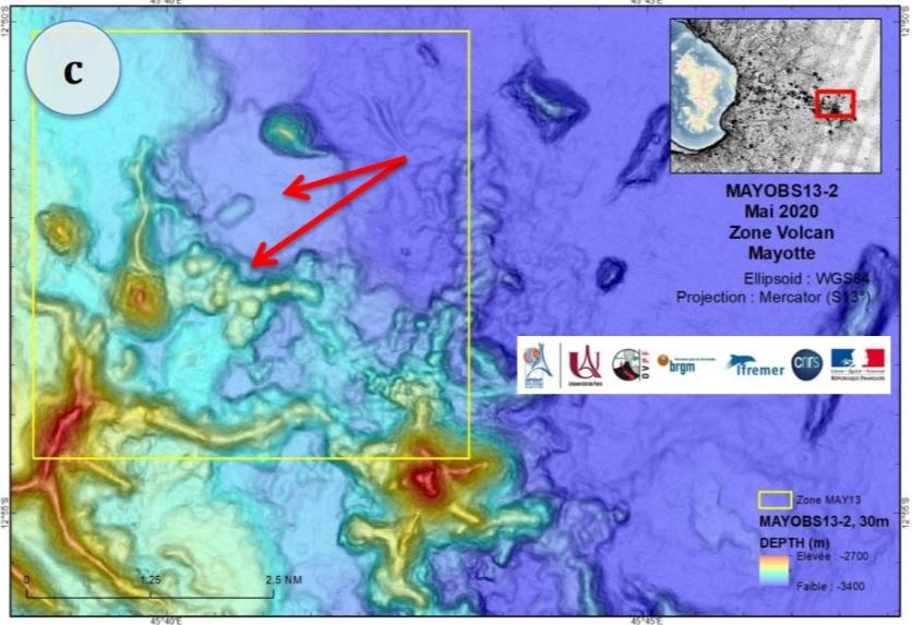 На дне Индийского океана вырос новый и очень активный вулкан