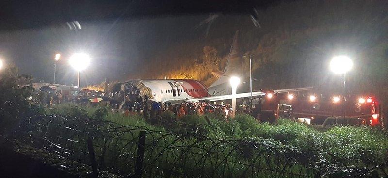 Авиакатастрофа в Индии. Число погибших возросло до 16