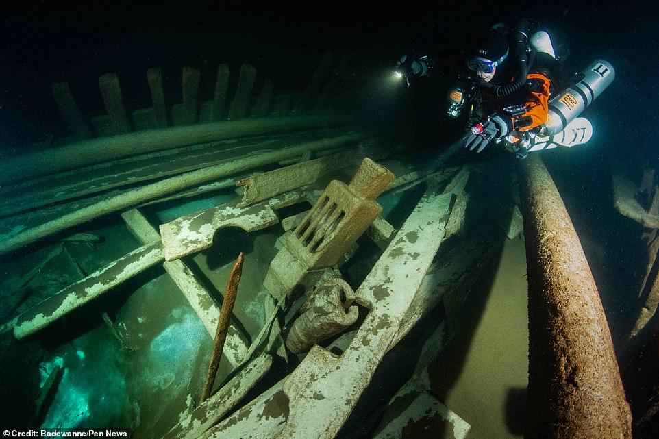 Идеально сохранился: в Балтийском море нашли затонувшее 400-летнее судно